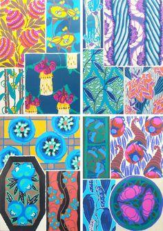 Studio Sjoesjoe: E.A. Seguy Flower patterns
