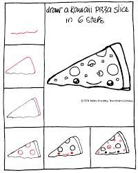 20 Best Pizza Images Drawings Easy Drawings Drawing For Kids