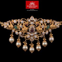 Fulfill a Wedding Tradition with Estate Bridal Jewelry Jewelry Design Earrings, Gold Earrings Designs, Gold Jewellery Design, Necklace Designs, Pendant Jewelry, Gold Wedding Jewelry, Bridal Jewelry, Gold Jewelry, India Jewelry