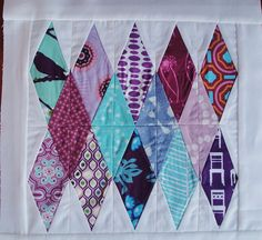 diamond #quilt block by Emerson Gray