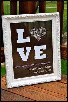 LOVE Wedding/Anniver