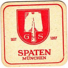 1 Bierdeckel Brauerei Spaten München   eBay