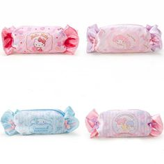 479a8b03a16 1 Pcs Kawaii Candy My Melody Hello Kitty Cinnamoroll Dogs Ice Cream Shape  Large Capacity Pencil Case Women Cosmetic Pen Bag-in Pencil Bags from  Office ...
