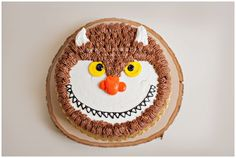 monster where the wild things are cake for smash session first birthday jacksonville