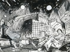 The Ring commission art by Daniel Warren Johnson The Ring Series, The Ring Two, How To Make Comics, Make Art, Comic Art, Cool Pictures, Drawings, Instagram, Twitter