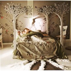 Perfect fairytale bed