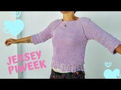 oh mami crochet Crochet Poncho, Crochet Yarn, Crochet Summer Tops, Summer Patterns, Pullover, Crochet Patterns, Knitting, Sweaters, Clothes