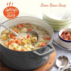 Lima Bean Soup Recipe from Taste of Home -- shared by Kathleen Olsack, North Cape May, New Jersey