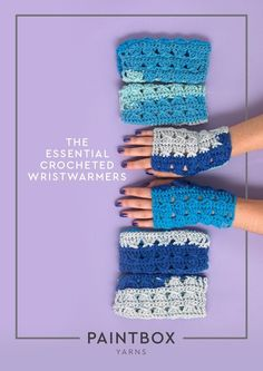 The Essential Crocheted Wristwarmers in Paintbox Yarns - Downloadable PDF. Discover more patterns by Paintbox Yarns at LoveKnitting. The world's largest range of knitting supplies - we stock patterns, yarn, needles and books from all of your favourite bra