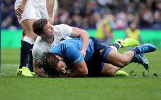 #RBS6Nations Anglaterra [35-15] Itàlia. Twickenham Stadium. Owen Farrell. Michele Campagnaro