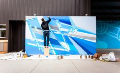 Murals — Charlie Edmiston | Abstract Paintings