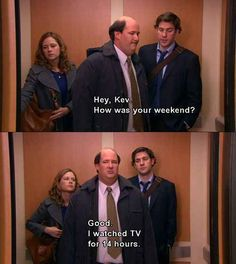 Weekends in front of the television are awesome.