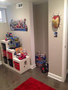 Superhero Playroom