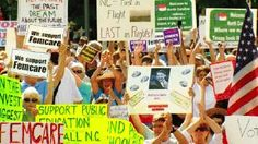 Thousands pack downtown Asheville, NC for the biggest Mountain Moral Monday - WLOS News13 - News - Top Stories