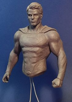 Cavill Superman WIP by davjames on DeviantArt Human Poses Reference, Anatomy Reference, Photo Reference, Character Reference, Anime Comics, Dc Comics, Old Superman, Batman, Anatomy Sculpture