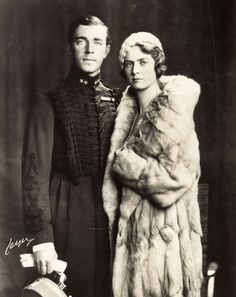 Miss Honoria Glossop: Prince Gustaf Adolf and Princess Sibylla of Sweden, parents of King Carl Gustaf of Sweden and his four sisters