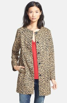 Ace Delivery Leopard Print Topper available at #Nordstrom