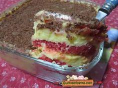 Ricetta zuppa inglese pan di spagna, un dolce molto semplice e tanto goloso ! Per fare questa ricetta zuppa inglese pan di spagna,