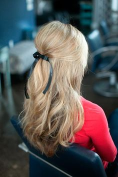 Fab Hairstyles with Ribbons You Need To Try