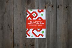 Woodward Design - Christmas Wrapping Paper Design www.kristingibson.ca