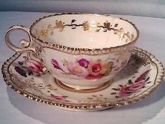 Vintage China Coalport tea cup and saucer by kasey