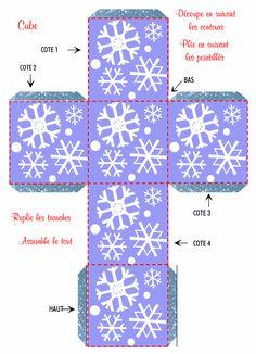 boite flocons de neige