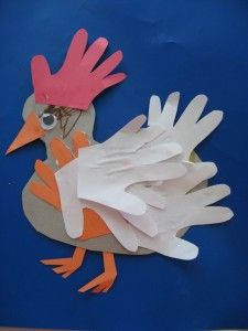 Hands On Chicken Craft