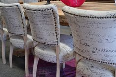 Parlez Vous Francais? Add a French flavour to your dining setting with these dining chairs at The General Store furniture and homewares.