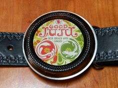 Left Hand Brewing   GOOD JUJU  Belt Buckle handcrafted by BrewPaw, $28.99