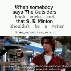 Love The Outsiders and The Breakfast Club. The Outsiders Greasers, The Outsiders 1983, The Outsiders Quotes, Literally Me, Lets Do It, The Breakfast Club, Back Off, I Can Relate, Book Fandoms