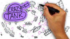 Фестиваль ТАНКОВ рисование для детей / фантазия