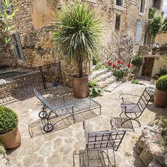 Exteriores Casa rural, estilo provenzal en La Capelle et Masmolène