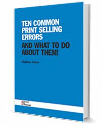 Free ebook: What are the most common errors for people selling printing?