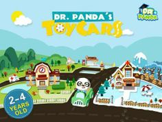 Dr. Panda's Toy Cars - drag your finger to drive virtual vehicles around a city. Appysmarts score: 86/100 http://www.appysmarts.com/application/dr-panda-s-toy-cars,id_96770.php