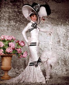 15. Одри Хепберн «Моя прекрасная леди», 1964