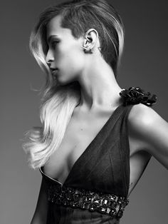Fashiontography: Alice Dellal by Karim Sadli