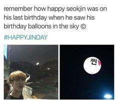 Happy birthday Kim Seokjin! HAPPYJINDAY. BTS