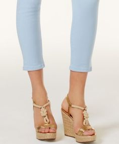 Michael Michael Kors Izzy Cropped Skinny Jeans - Blue 16