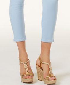Michael Michael Kors Petite Izzy Cropped Skinny Jeans - Green 2P