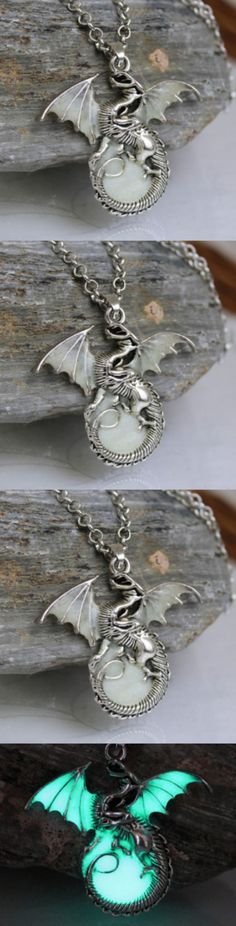 Game Of Thrones GLOW in the DARK Luminous Dragon Pendants  Necklace! Click The Image To Buy It Now or Tag Someone You Want To Buy This For. #GameOfThrones