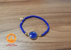 "Bracelet from our ""Something Blue Collection""."