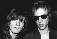 Dee Dee Ramone & Richard Hell by Mimika2010, via Flickr