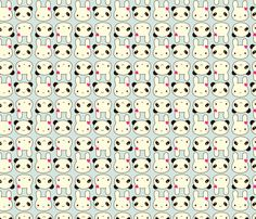 Super Cute Kawaii fabric by marcelinesmith on Spoonflower - custom fabric…