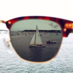 Preppy Tortoise Shell Sunglasses with Sailboat image Estilo Preppy, Photoshop, Am Meer, Pics Art, Ray Ban Sunglasses, Summer Sunglasses, Pink Sunglasses, Sunnies, Mirrored Sunglasses