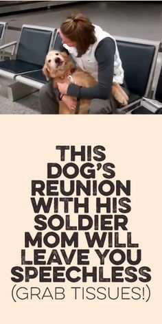 This Dogs Reunion With His Soldier Mom Will Leave You Speechless! Grab Tissues! <3