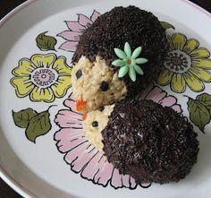 Sprinkle Bakes: Hedgehog Rice Krispies treats