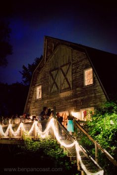 The Blue Dress Barn Dance/ wedding.I remember the fun we used to have! Rustic Wedding, Wedding Reception, Wedding Barns, Wedding Ideas, Trendy Wedding, Balcony Lighting, Michigan Wedding Venues, Barn Dance, Barn Parties