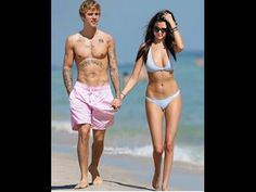 Selena Gomez & Justin Bieber Together On A Beach 2017 Red Bikini Top, Bikini Tops, Justin 2017, Justin Bieber Selena Gomez, Selena Gomez Wallpaper, Cute Celebrity Couples, Beach 2017, Couple Goals, Bikinis