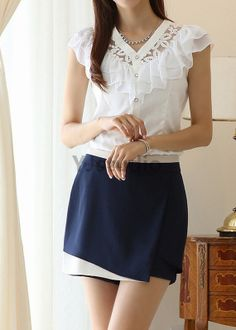 Blouse, Shirt, Victorian Style Women Lace Blouse, Great for Spring and Summer,  Don't MISS It!!