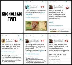 "INILOH KRONOLOGIS TWIT ""KAFIR"" @estiningsihdwi JANGAN TERPOTONG-POTONG"